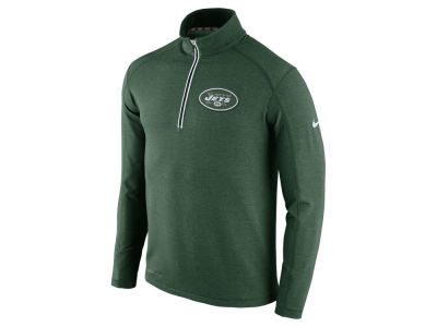 New York Jets Nike NFL Men's Game Day 1/4 Zip Knit Jacket