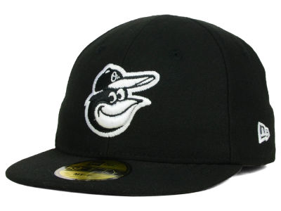 Baltimore Orioles New Era MLB Youth My First Black/White 59FIFTY Cap