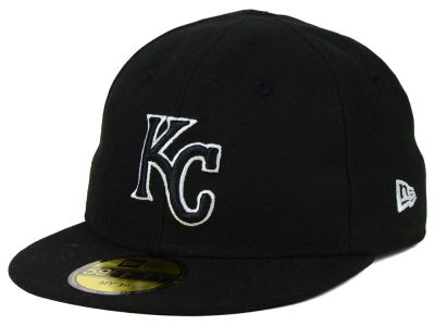 Kansas City Royals New Era MLB Youth My First Black/White 59FIFTY Cap