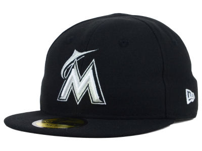 Miami Marlins New Era MLB Youth My First Black/White 59FIFTY Cap