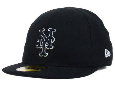 New York Mets New Era MLB Youth My First Black/White 59FIFTY Cap