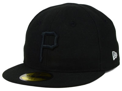 Pittsburgh Pirates New Era MLB Youth My First Black/White 59FIFTY Cap