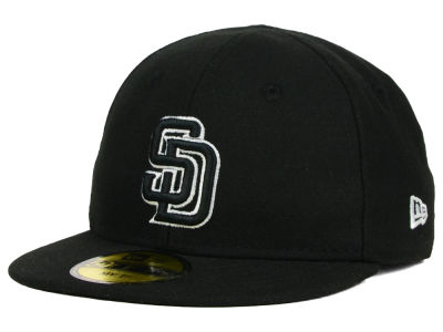 San Diego Padres New Era MLB Youth My First Black/White 59FIFTY Cap
