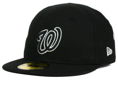 Washington Nationals New Era MLB Youth My First Black/White 59FIFTY Cap
