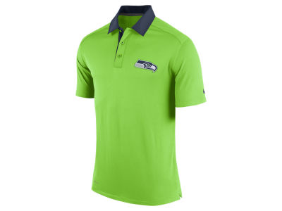 Seattle Seahawks Nike NFL Elite Coaches Polo Shirt