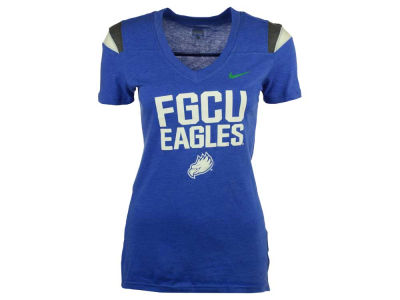 Florida Gulf Coast Eagles NCAA Women's Touchdown T-Shirt