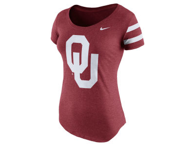 Oklahoma Sooners Nike NCAA Women's Scoop Team DNA T-Shirt