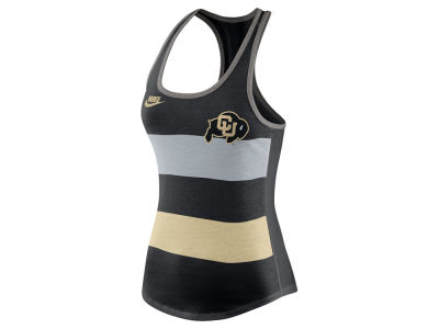 Colorado Buffaloes Nike NCAA Women's Tri Team Stripe Tank