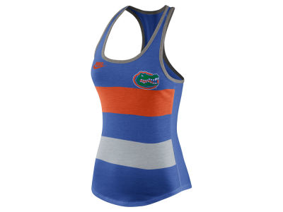 Florida Gators Nike NCAA Women's Tri Team Stripe Tank
