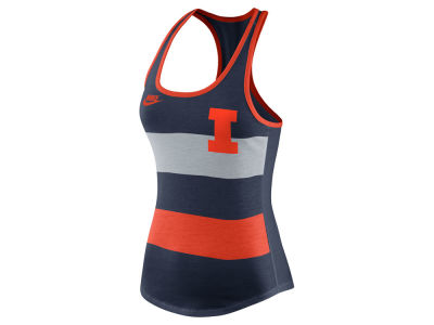 Illinois Fighting Illini Nike NCAA Women's Tri Team Stripe Tank