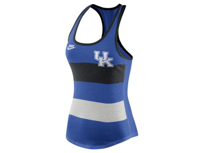 Kentucky Wildcats Nike NCAA Women's Tri Team Stripe Tank