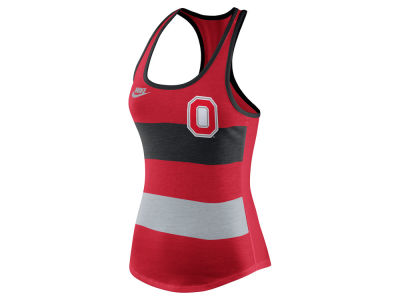 Ohio State Buckeyes Nike NCAA Women's Tri Team Stripe Tank