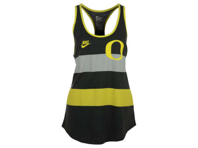 Oregon Ducks Nike NCAA Women's Tri Team Stripe Tank