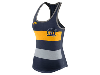 California Golden Bears Nike NCAA Women's Tri Team Stripe Tank