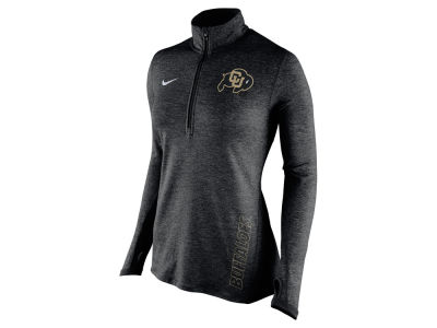 Colorado Buffaloes Nike NCAA Women's Stadium Element 1/4 Zip Pullover Shirt