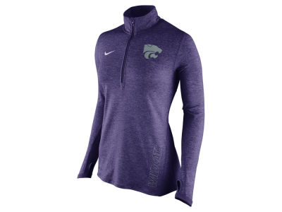 Kansas State Wildcats Nike NCAA Women's Stadium Element 1/4 Zip Pullover Shirt