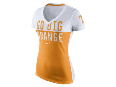 Tennessee Volunteers Nike NCAA Women's Mid-V Chop Block T-Shirt