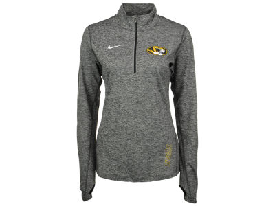 Missouri Tigers Nike NCAA Women's Stadium Element 1/4 Zip Pullover Shirt