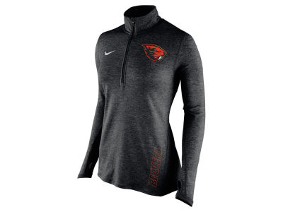 Oregon State Beavers Nike NCAA Women's Stadium Element 1/4 Zip Pullover Shirt