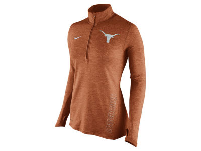 Texas Longhorns Nike NCAA Women's Stadium Element 1/4 Zip Pullover Shirt