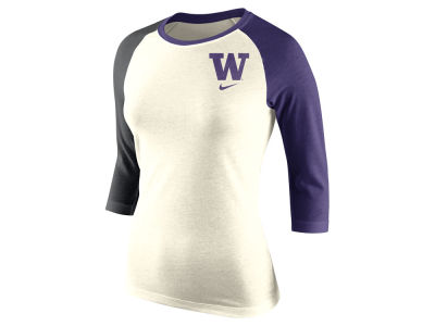 Washington Huskies Nike NCAA Women's Tri Strong Raglan T-Shirt