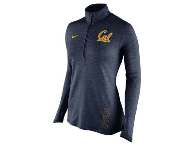 California Golden Bears Nike NCAA Women's Stadium Element 1/4 Zip Pullover Shirt