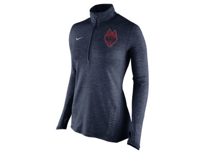 Connecticut Huskies Nike NCAA Women's Stadium Element 1/4 Zip Pullover Shirt
