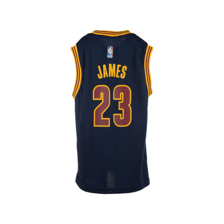 Cleveland Cavaliers LeBron James Adidas Youth NBA Revolution 30 Jersey
