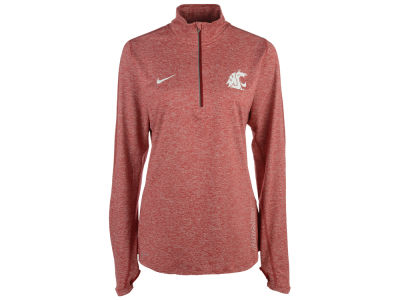 Washington State Cougars Nike NCAA Women's Stadium Element 1/4 Zip Pullover Shirt