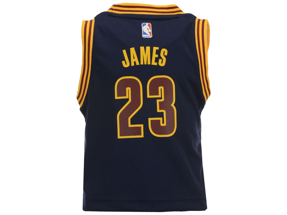 c8f1f6879 Cleveland Cavaliers LeBron James adidas NBA Toddler Replica Jersey ...