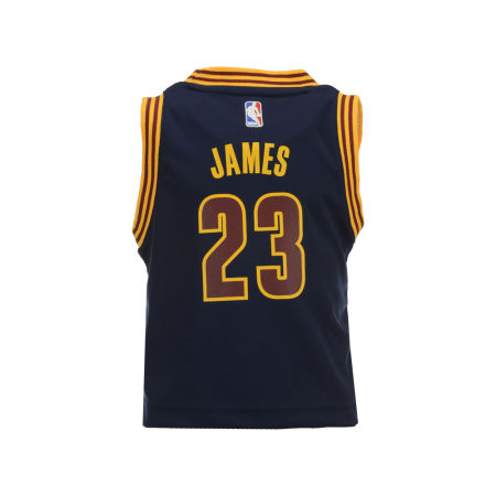Cleveland Cavaliers LeBron James NBA Toddler Replica Jersey