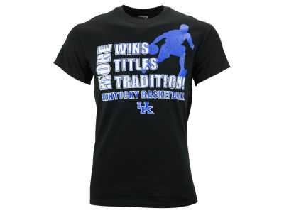 Kentucky Wildcats NCAA Men's More Wins Titles Trad T-Shirt