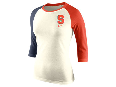 Syracuse Orange Nike NCAA Women's Tri Strong Raglan T-Shirt