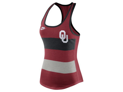 Oklahoma Sooners Nike NCAA Women's Tri Team Stripe Tank