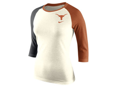 Texas Longhorns Nike NCAA Women's Tri Strong Raglan T-Shirt