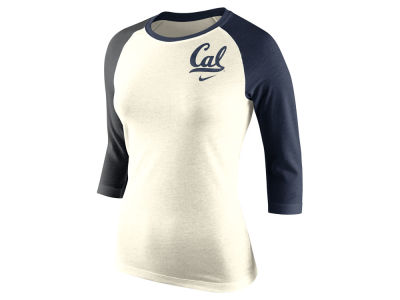 California Golden Bears Nike NCAA Women's Tri Strong Raglan T-Shirt