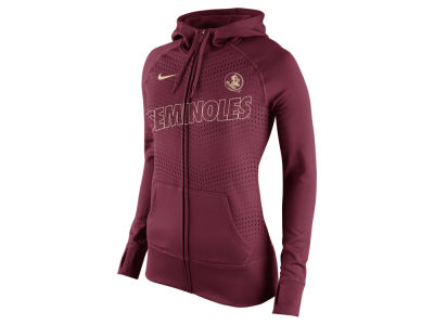Florida State Seminoles Nike NCAA Women's Full Zip Fleece Hoodie