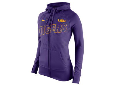 LSU Tigers Nike NCAA Women's Full Zip Fleece Hoodie