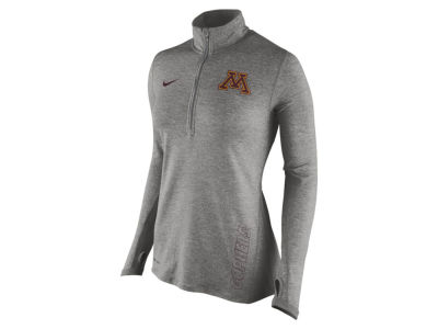 Minnesota Golden Gophers Nike NCAA Women's Stadium Element 1/4 Zip Pullover Shirt