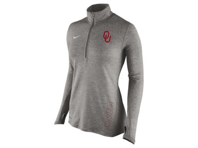 Oklahoma Sooners Nike NCAA Women's Stadium Element 1/4 Zip Pullover Shirt