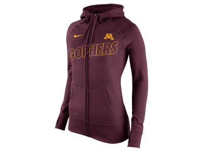 Minnesota Golden Gophers Nike NCAA Women's Full Zip Fleece Hoodie