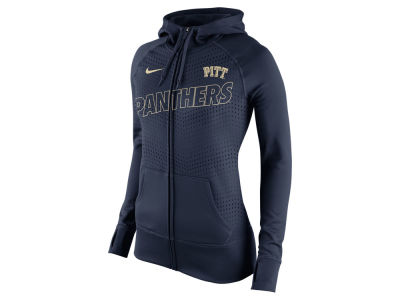 Pittsburgh Panthers Nike NCAA Women's Full Zip Fleece Hoodie