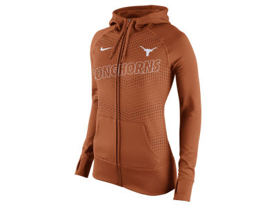 Texas Longhorns Nike NCAA Women's Full Zip Fleece Hoodie