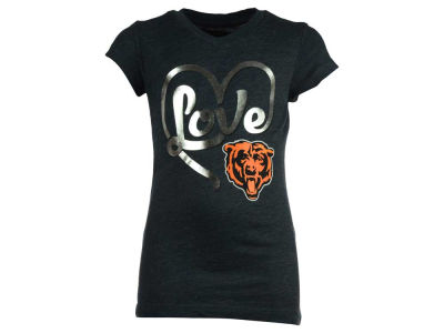 Chicago Bears 5th & Ocean NFL Youth Love T-Shirt