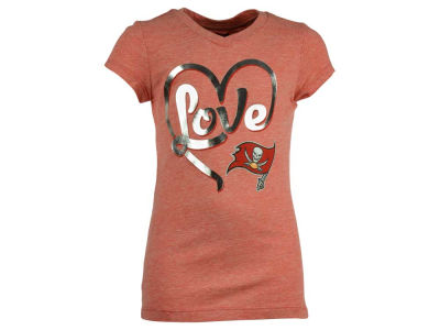 Tampa Bay Buccaneers 5th & Ocean NFL Youth Love T-Shirt