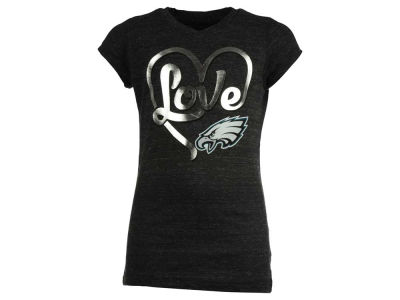 Philadelphia Eagles 5th & Ocean NFL Youth Love T-Shirt