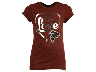 Atlanta Falcons 5th & Ocean NFL Youth Love T-Shirt