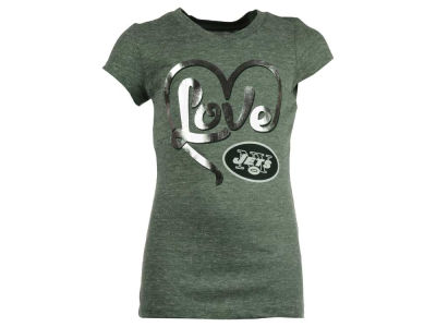 New York Jets 5th & Ocean NFL Youth Love T-Shirt