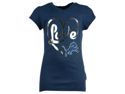 Detroit Lions 5th & Ocean NFL Youth Love T-Shirt