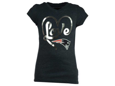 New England Patriots 5th & Ocean NFL Youth Love T-Shirt